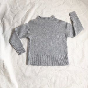 J.crew collection gray cashmere sweater XS slip on
